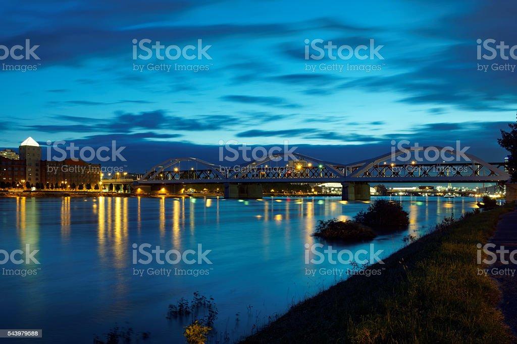 Ludwigshafen stock photo