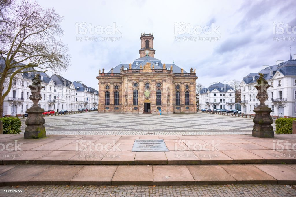 Ludwigskirche stock photo