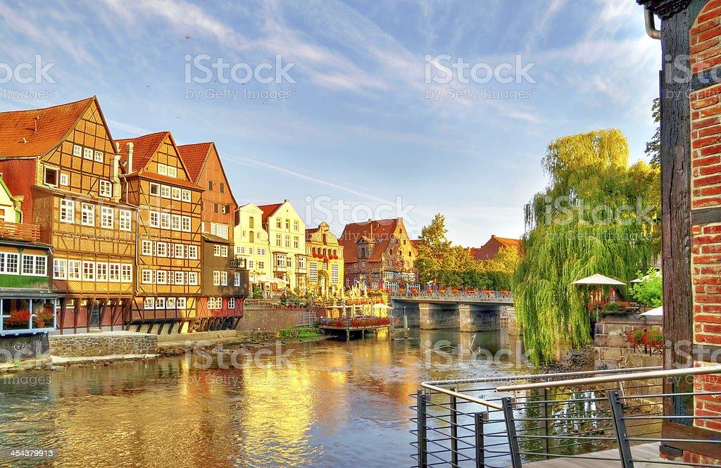 Lueneburg, Germany. lueneburg, germany (close to hamburg): Architecture Stock Photo