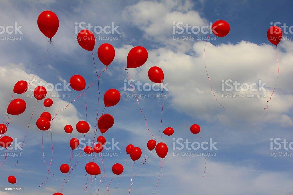 Luftballons1 stock photo