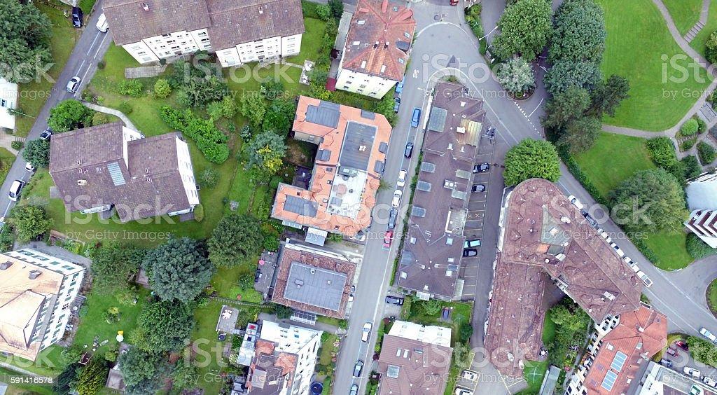 Luftbild stock photo