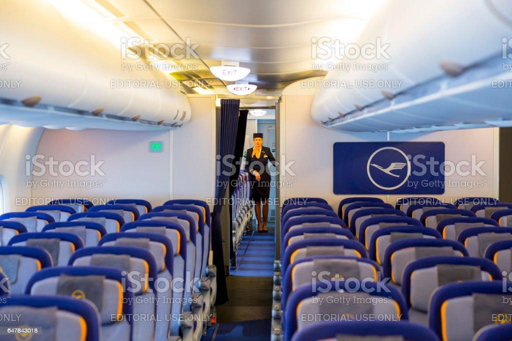 Lufthansa Airbus A380 Promotional Keyring