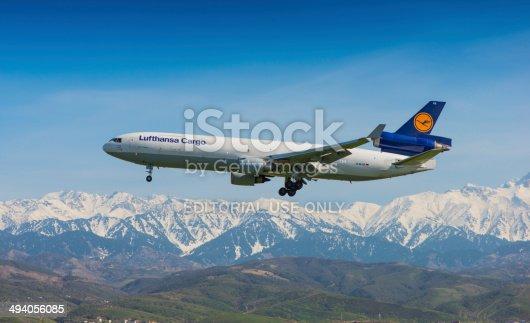 istock Lufthansa Cargo, McDonnell Douglas MD-11 494056085
