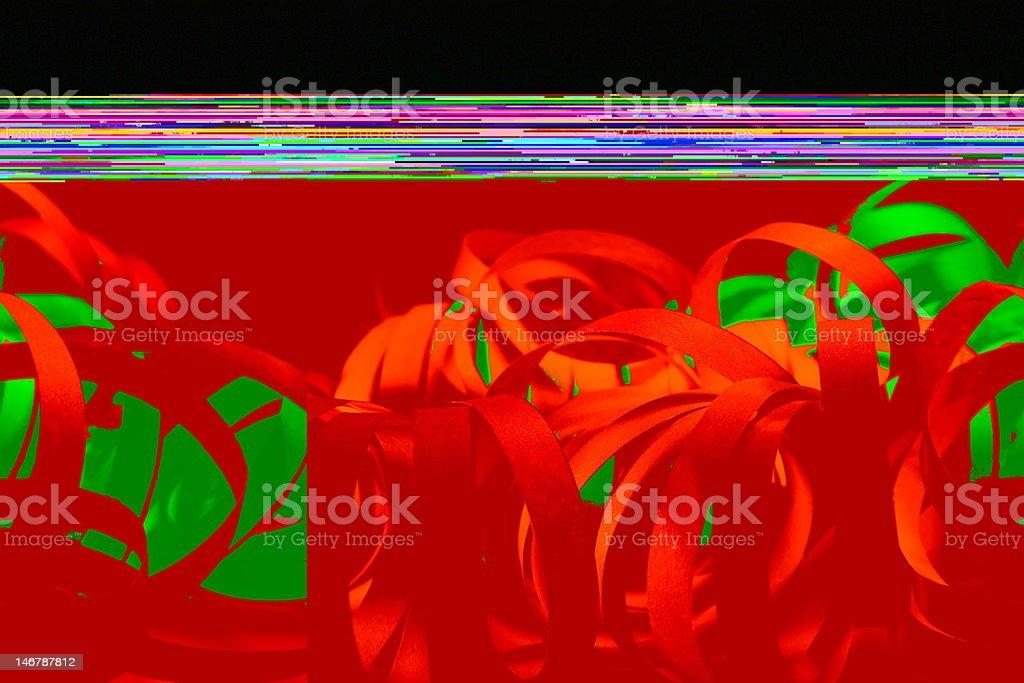 Luftschlangen royalty-free stock photo