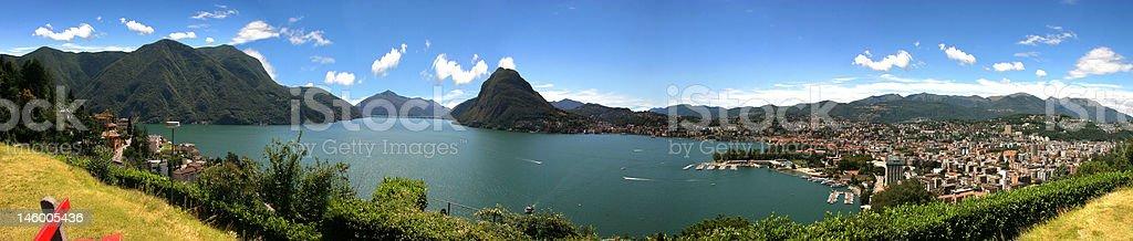 Lugano, Switzerland royalty-free stock photo