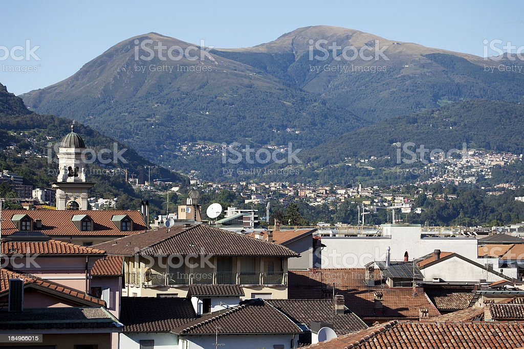 Lugano, Schweiz – Foto