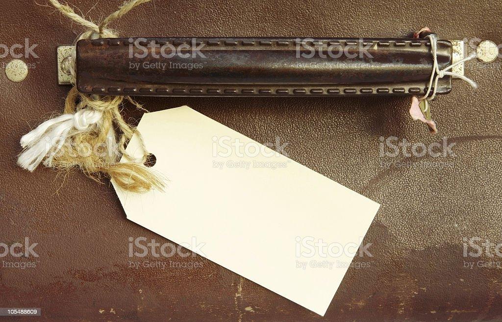 Etiqueta de bagagem - foto de acervo