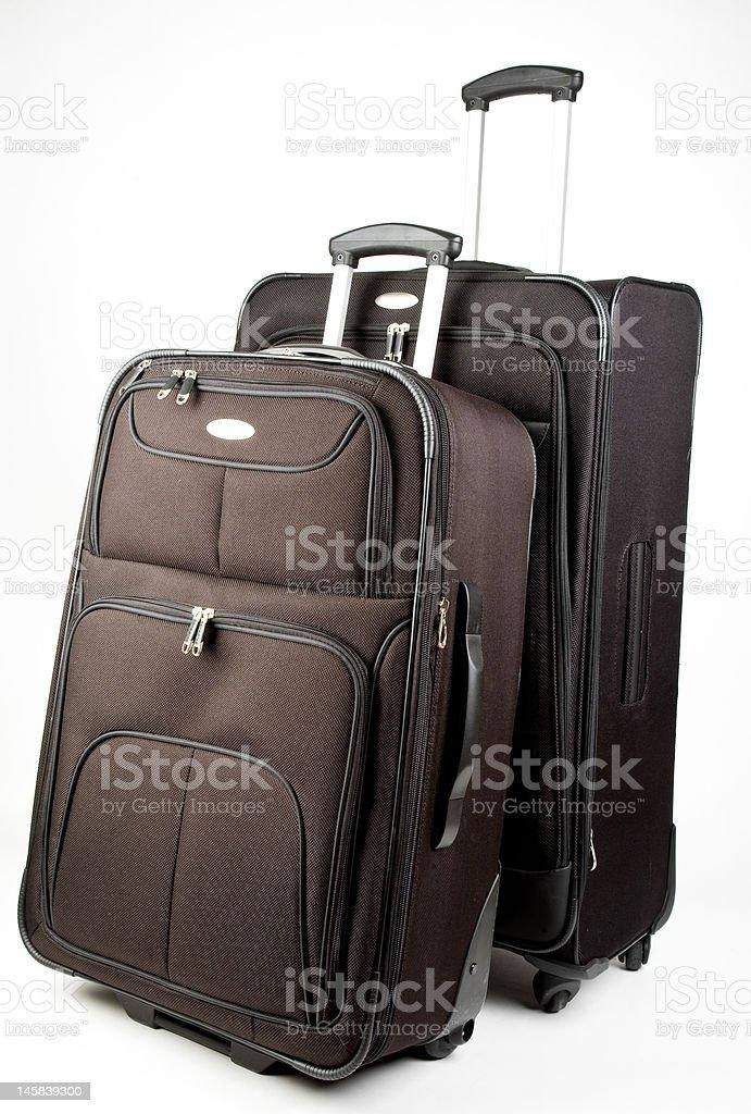 Luggage On Wheels royalty-free stock photo
