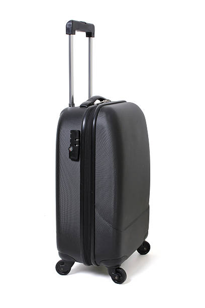 Luggage Luggage on White Background carry on luggage stock pictures, royalty-free photos & images