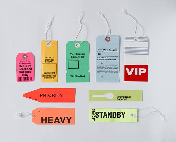 Étiquettes à bagages - Photo
