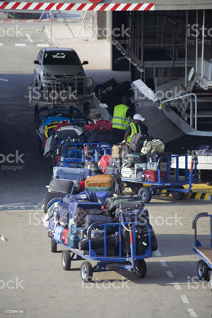 Luggages royalty-free stock photo