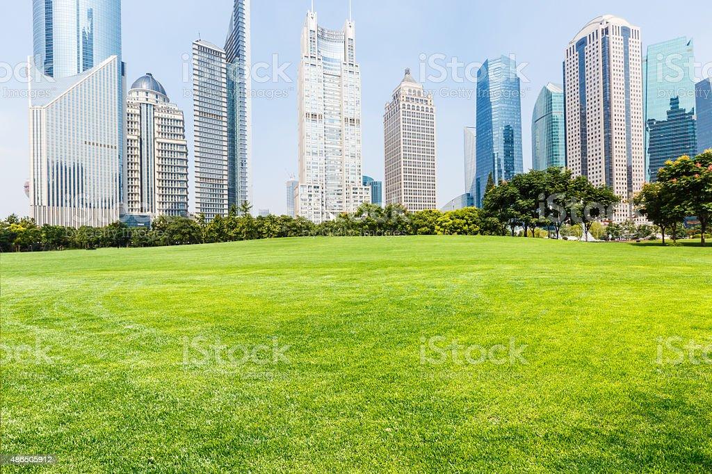 lujiazui financial centre, Shanghai, China stock photo