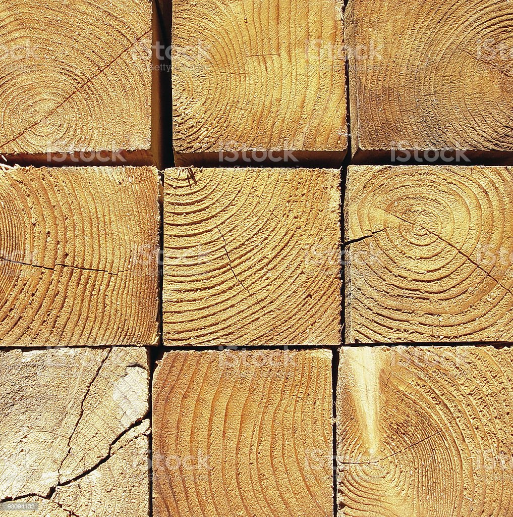 Lumber Close-up royalty-free stock photo
