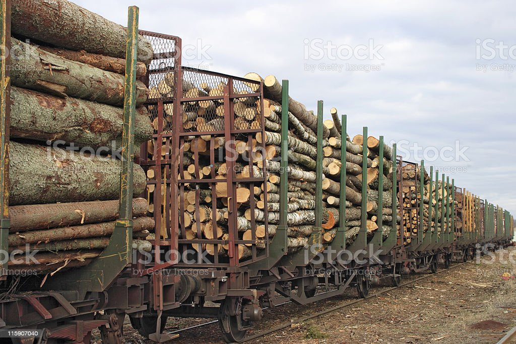 Lumber goods royalty-free stock photo