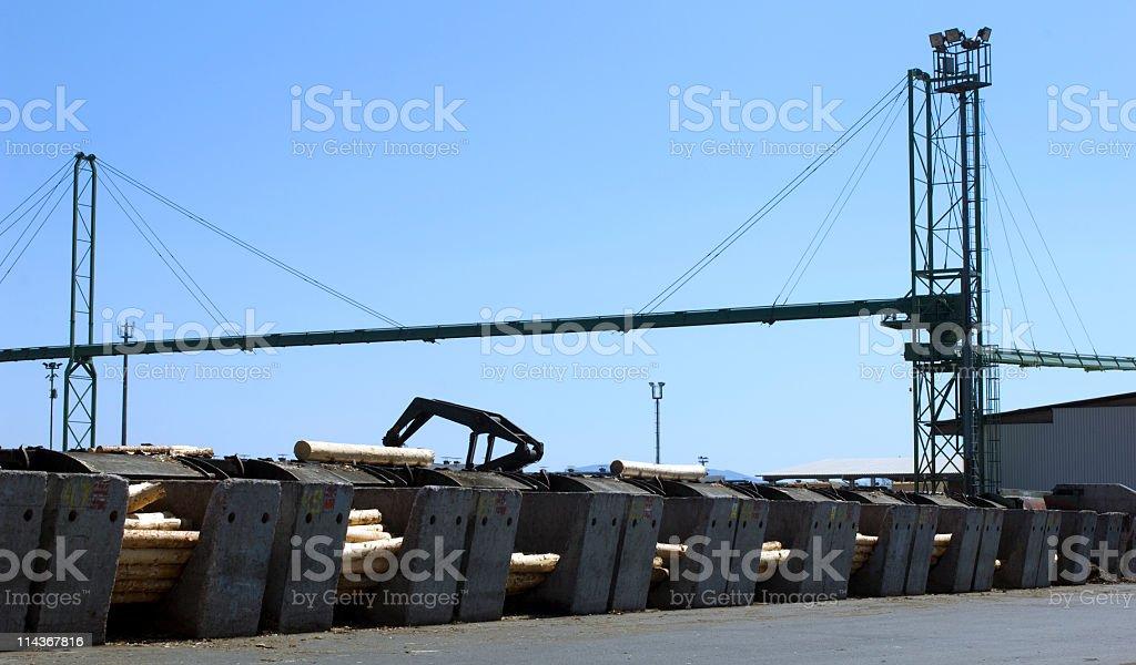 Lumber industry stock photo