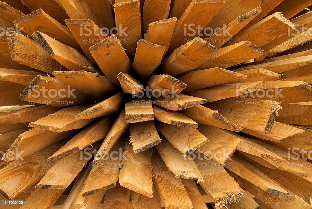 lumber stack stock photo