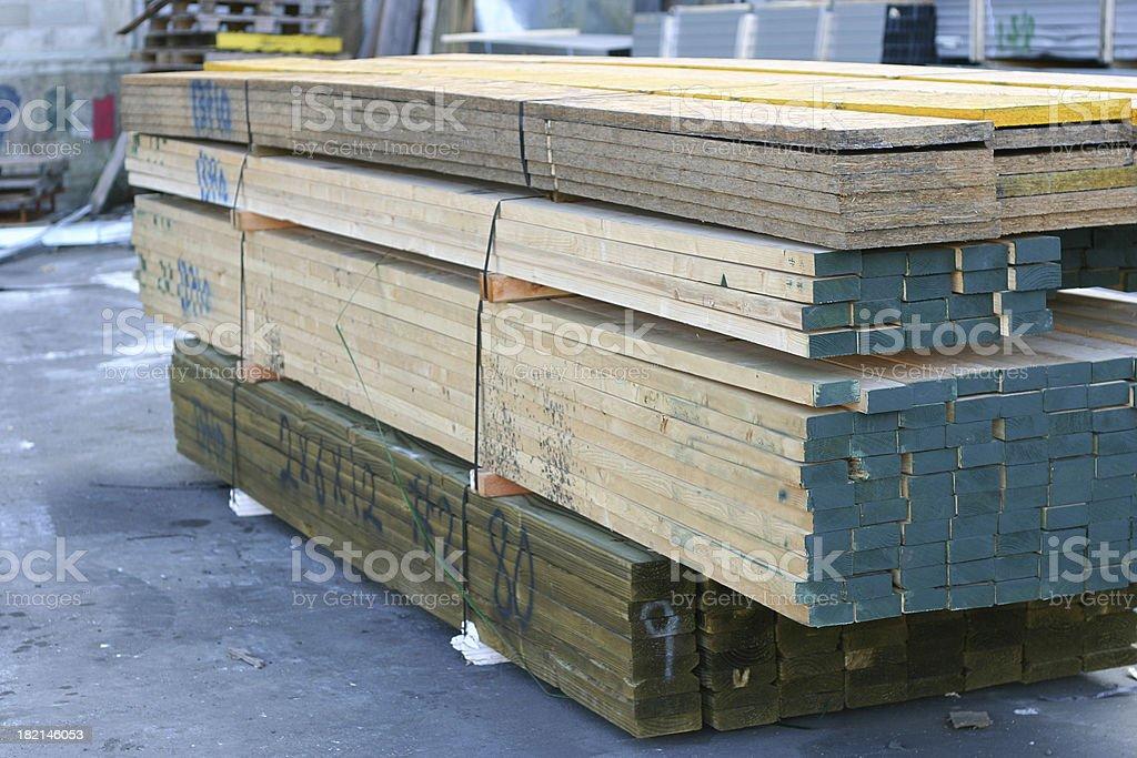 Lumber Yard royalty-free stock photo