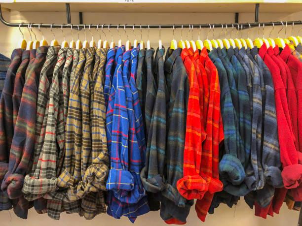 Holzfäller-Shirt – Foto