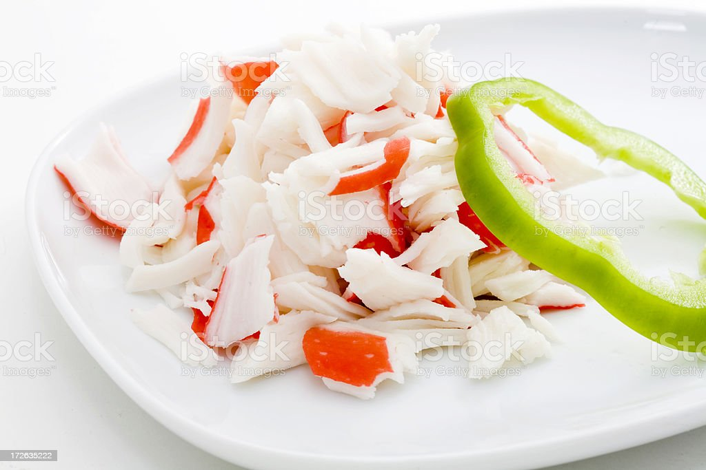 Lump Crab Meat royalty-free stock photo