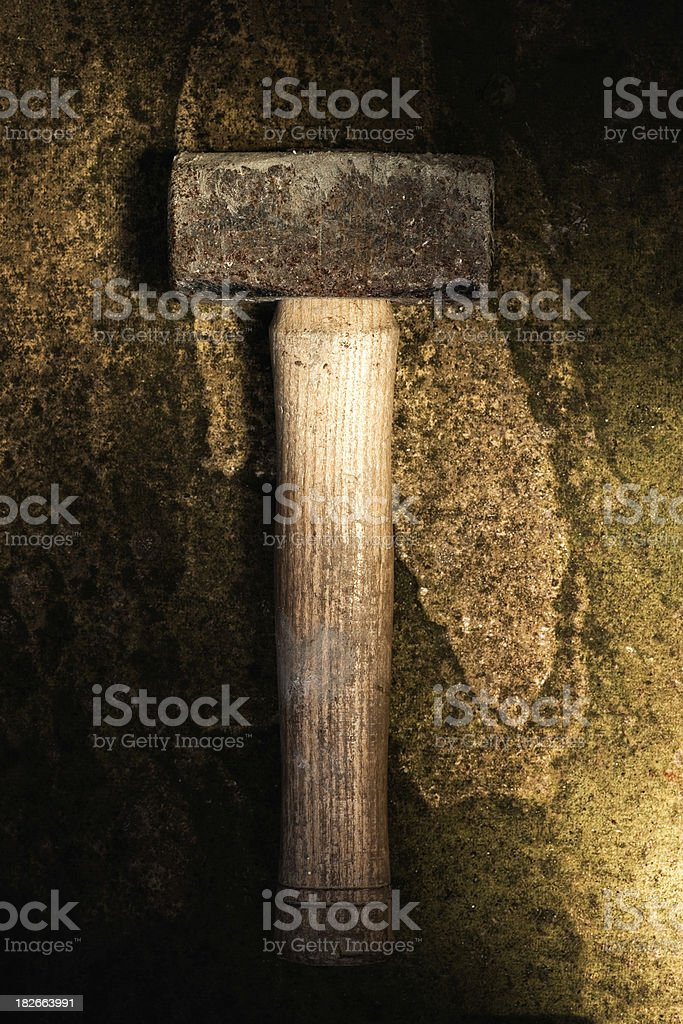 Lump Hammer royalty-free stock photo