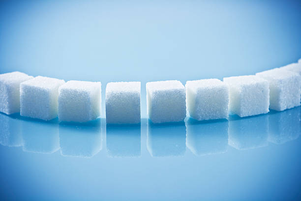 Lumps von Zucker – Foto