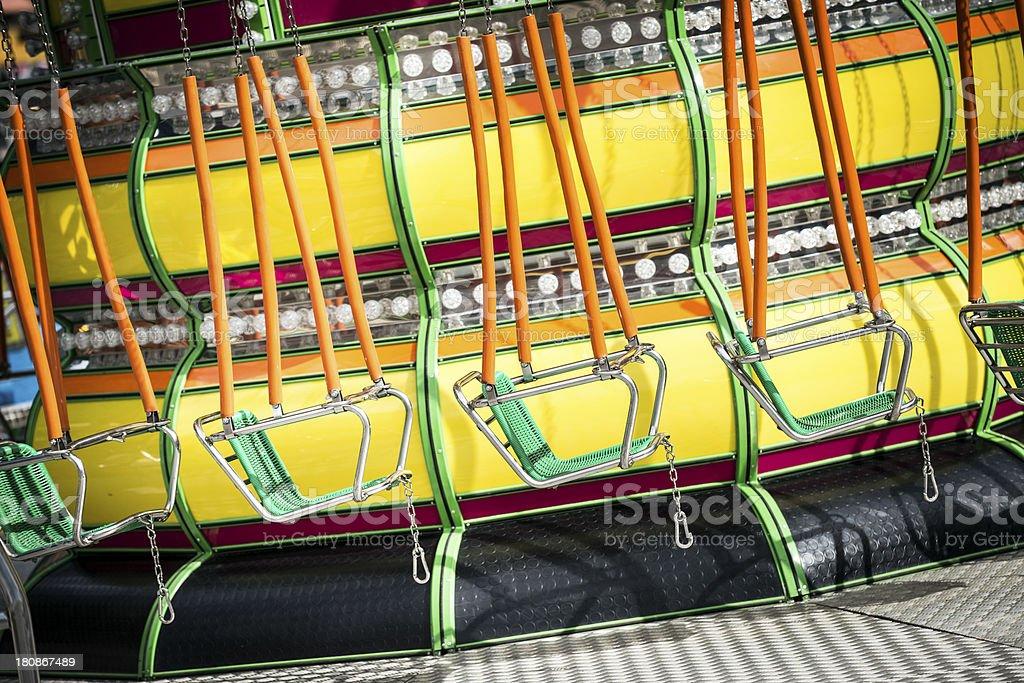 Luna Park background royalty-free stock photo