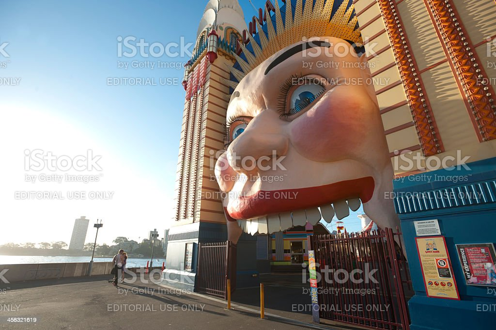 Luna Park on a Summer day. stock photo
