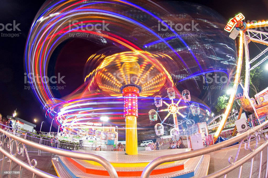 Luna Park stock photo