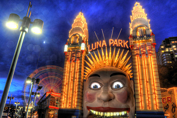 Royalty free luna park sydney pictures images and stock for Puerta 9 luna park