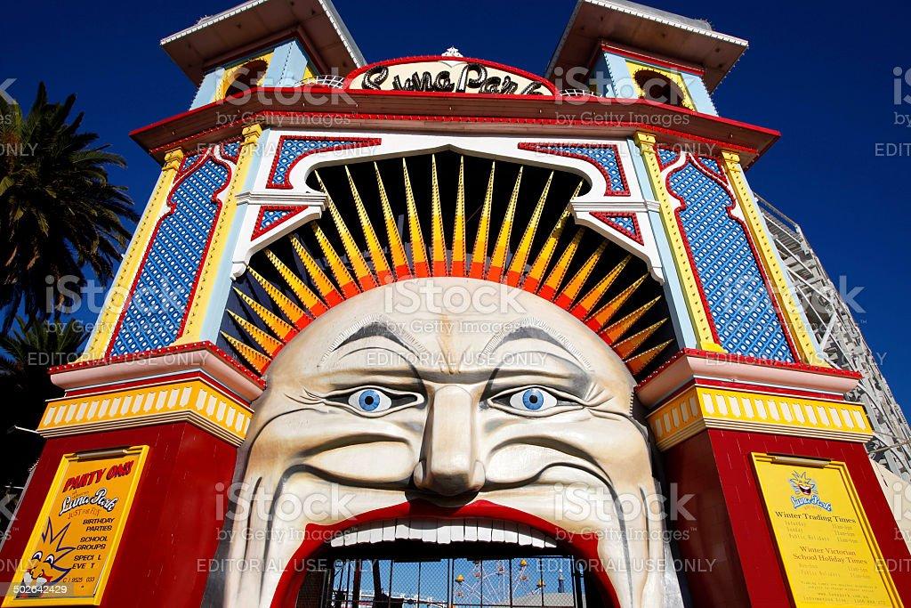 Luna Park, Victoria, Australia stock photo