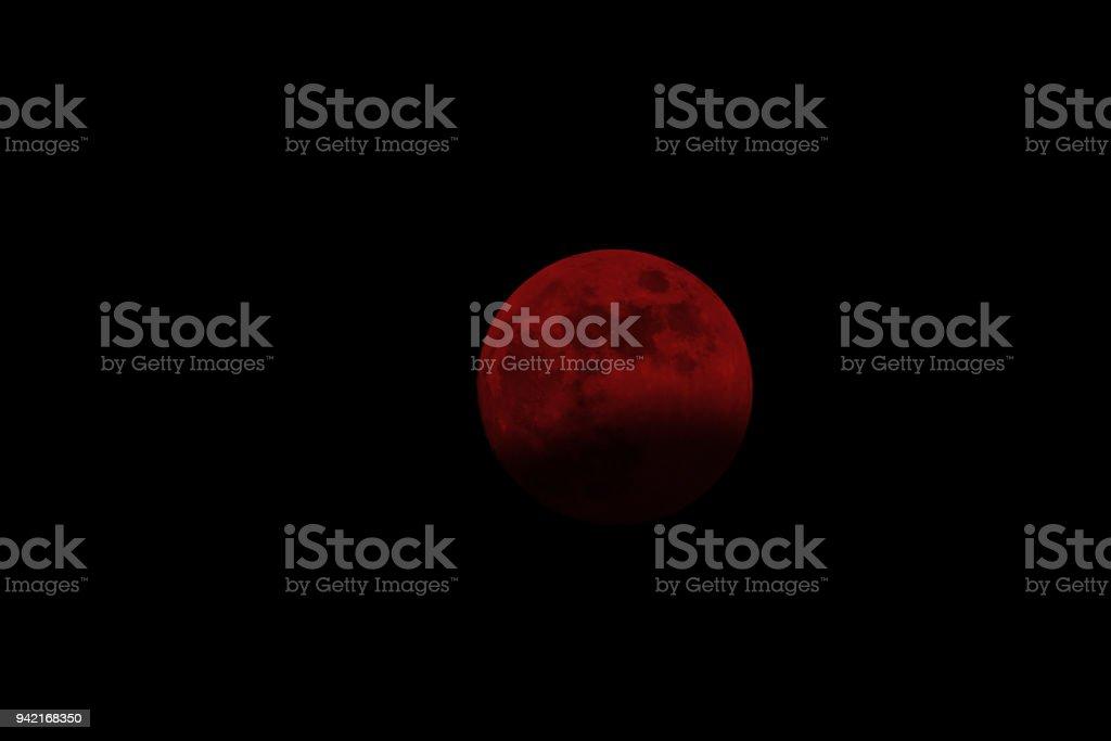 Mondfinsternis. Blutmond 07.08.2017 – Foto