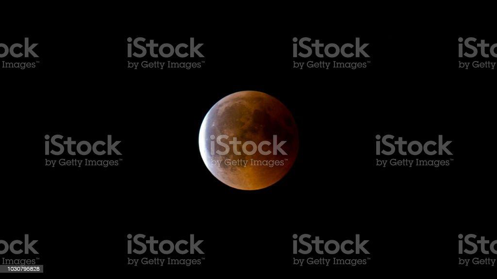 Mondfinsternis in der Schweiz – Foto