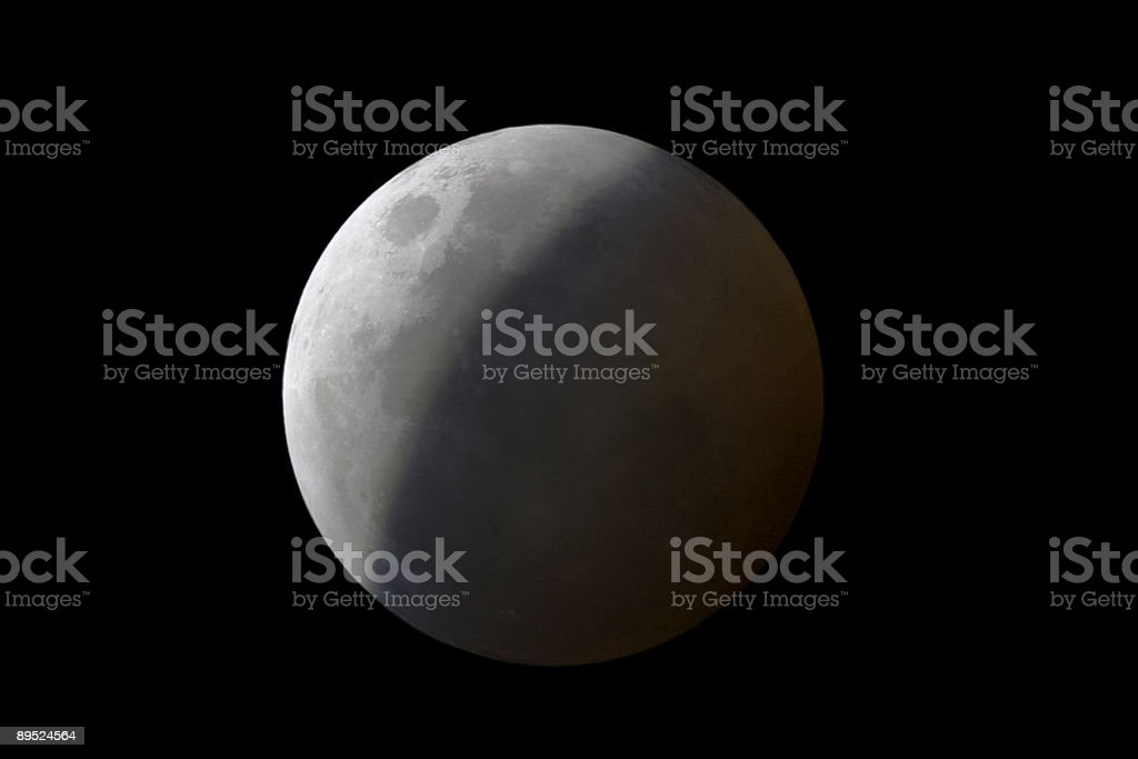 Lunar Eclipse royalty-free stock photo