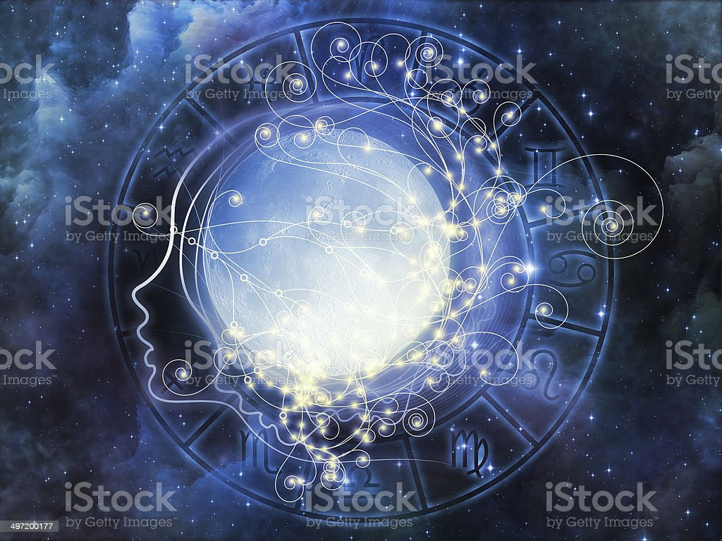 Lunar Fall royalty-free stock photo