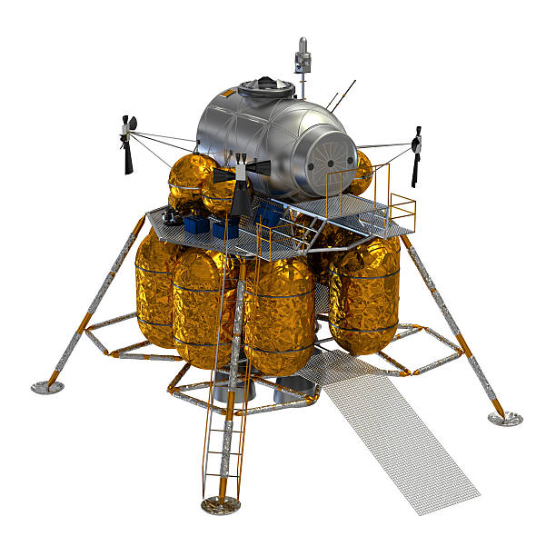 lunar lander - mondlandefähre stock-fotos und bilder
