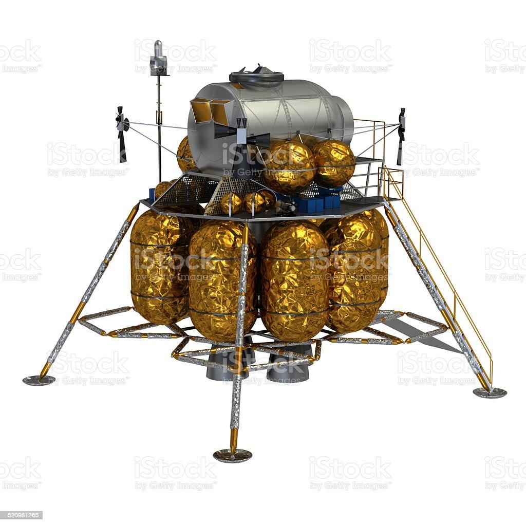 Lunar Lander stock photo