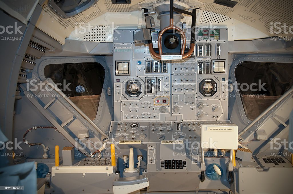 Lunar Module stock photo