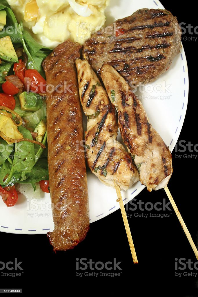 BBQ Lunch 2 royalty-free stock photo