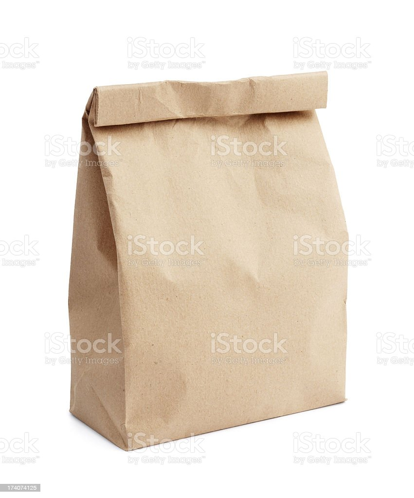 lunch bag stock photo