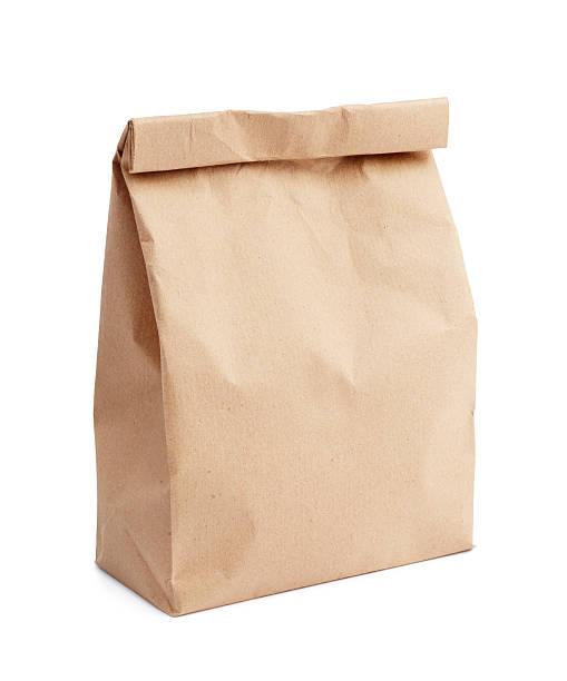 Bolsa para el almuerzo - foto de stock