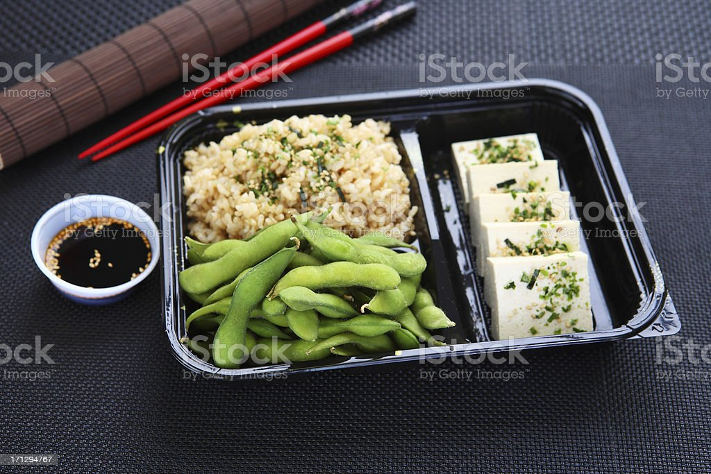 Lunch Box - Bento royalty-free stock photo