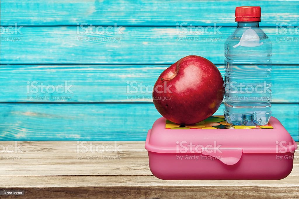 Lunch Box, Education, School stock photo