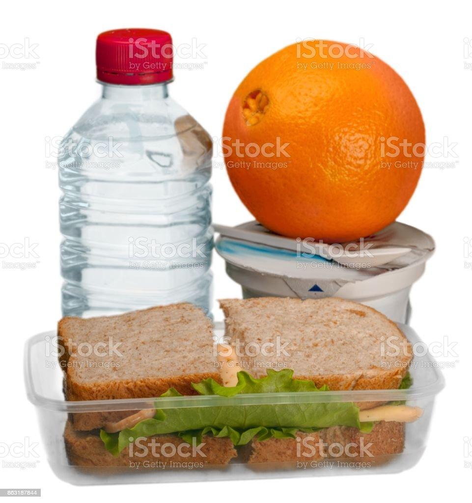 Lunch box. stock photo