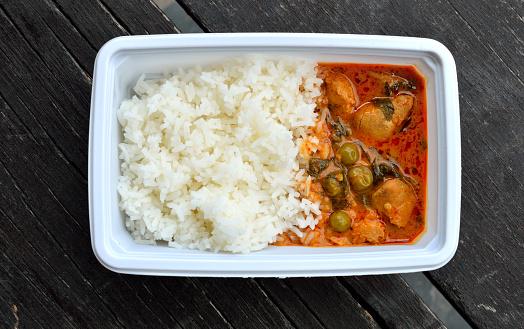 istock Lunch box , Thailand food 504920172