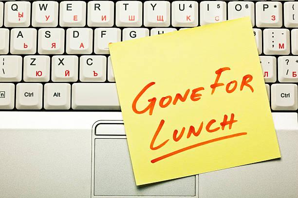 lunch break concept - lunchrast bildbanksfoton och bilder