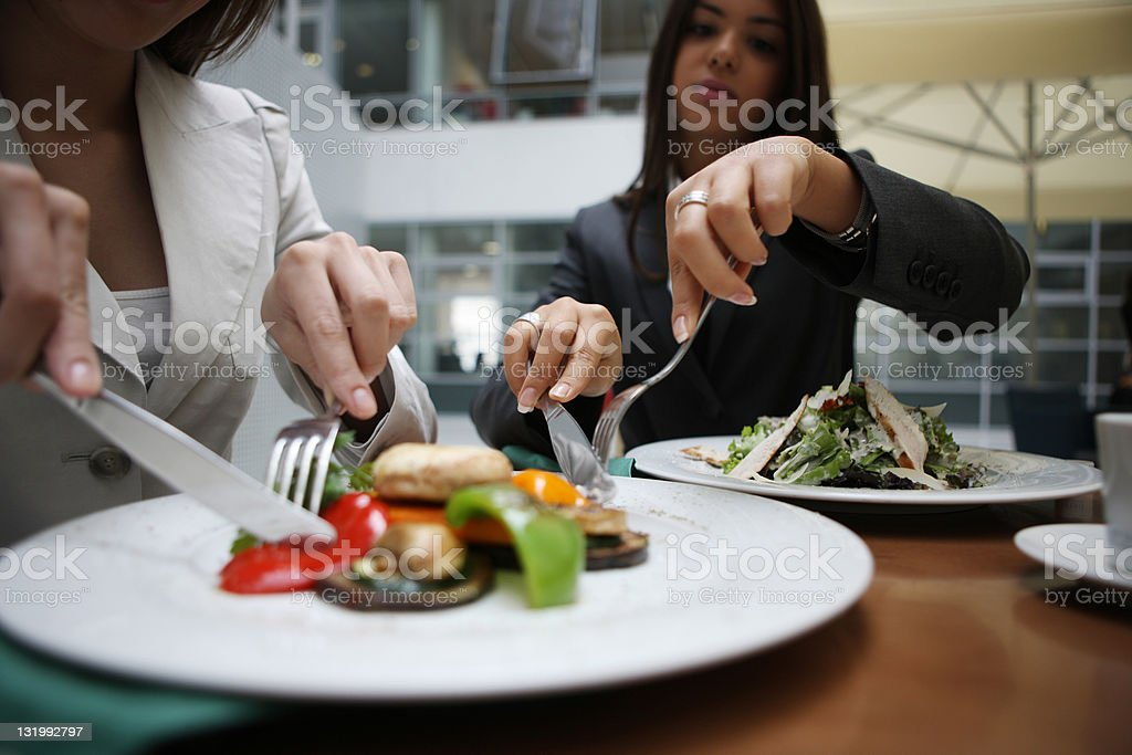 Lunch break royalty-free stock photo