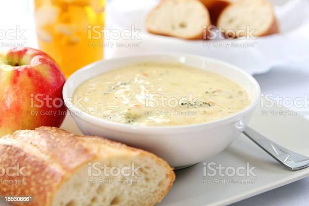 Lunch broccoli cheddar soup with bread picture id185306661?b=1&k=6&m=185306661&s=612x612&h=2g9xjagqngoajiadsprvmya9ewsnorwzsece2ufdqvq=