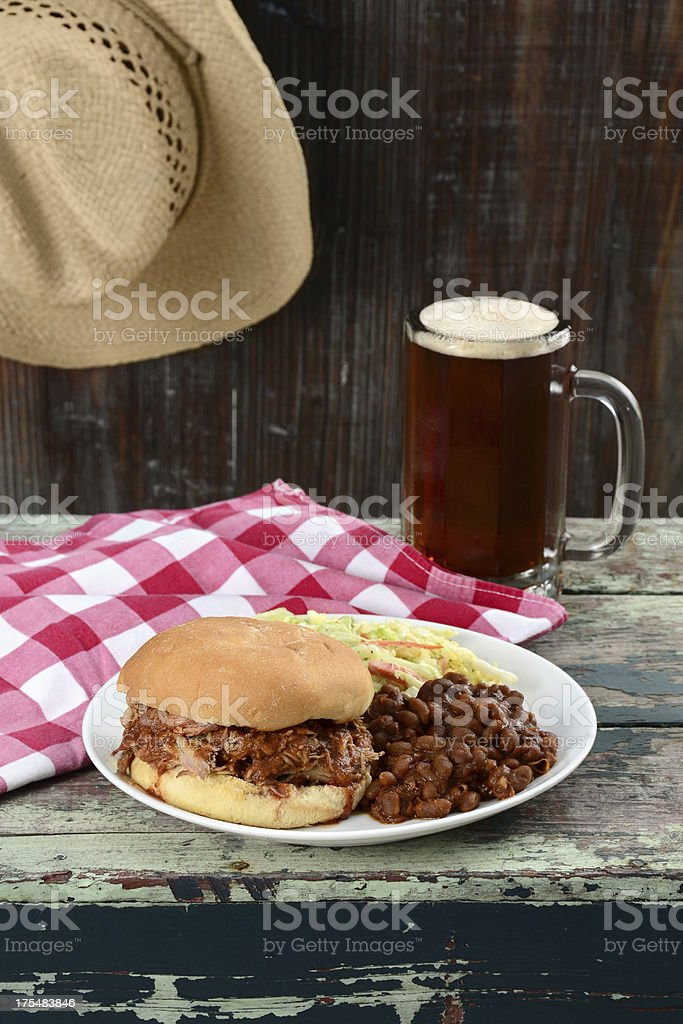 Lunch for a Cowboy royalty-free stock photo