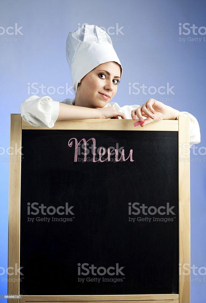 점심 메뉴 royalty-free 스톡 사진