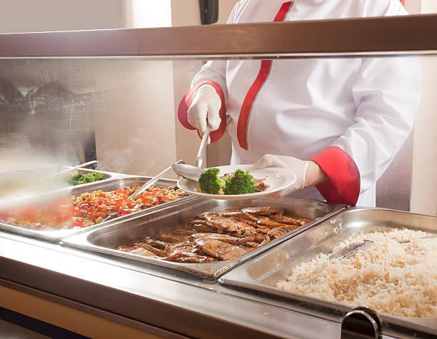lunch service station - 吧 公共飲食地方 個照片及圖片檔